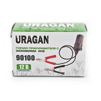 Адаптер с зажимами АКБ URAGAN 90100, фото 2