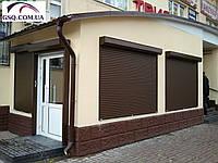 Автоматические защитные роллеты на окна и двери