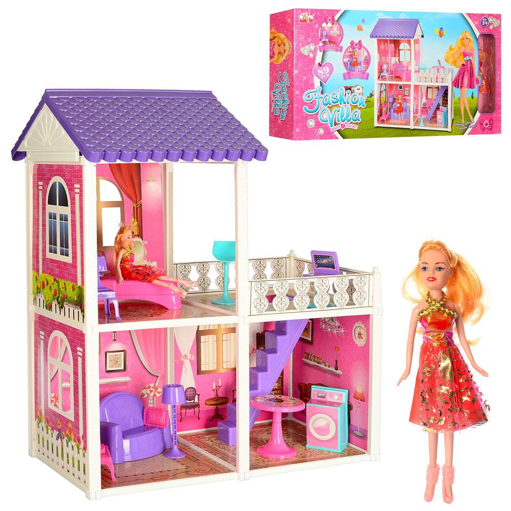 Домик с мебелью для кукол Fashion Villa арт. 971, фото 1