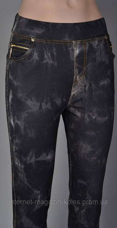 Молодежные лосины под джинс