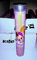 """Карандаши цветные Kite """"Pop Pixie"""", в металлическом тубусе с точилкой / 12 шт"""