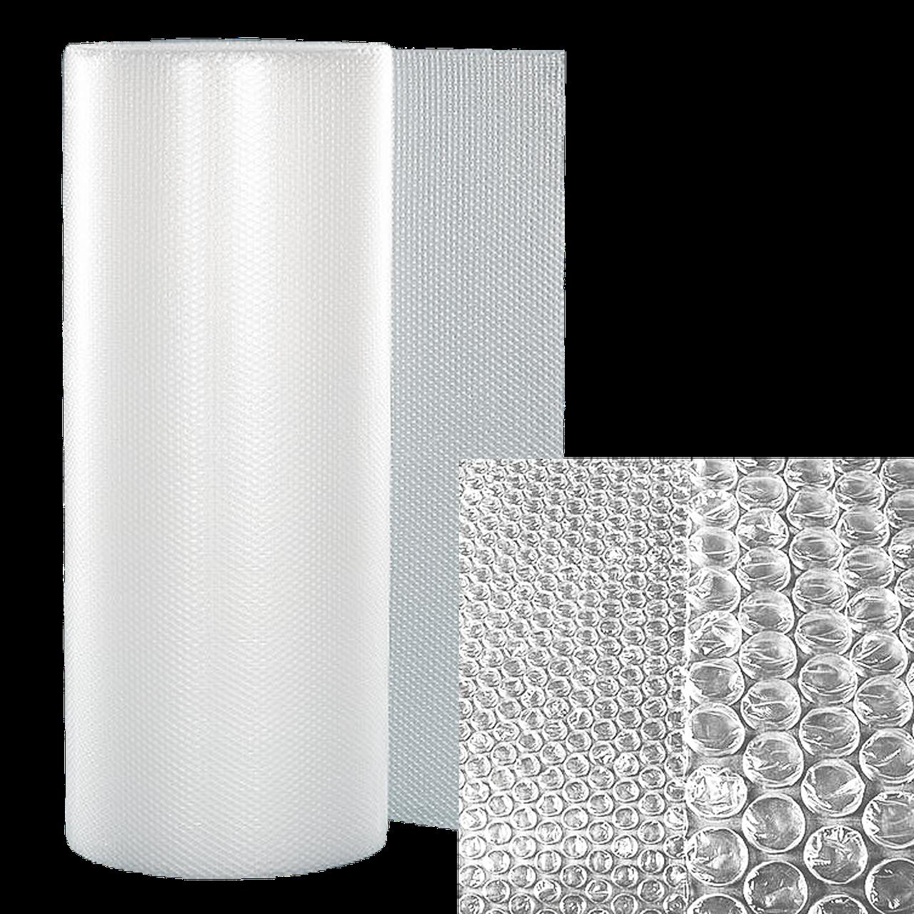 Воздушно-пузырчатая пленка Д45, ширина 1.1 м (рулон 50м), диаметр пузырька 10 мм.
