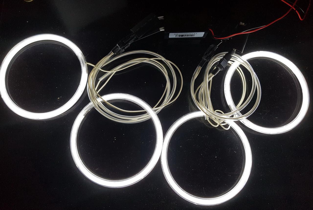 Ангельські очки (4*120 мм) CCFL для BMW E34 білі