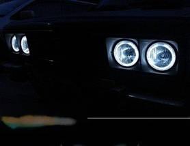 Ангельские глазки (4*120 мм) CCFL для ВАЗ 2106 белые, фото 3