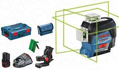 Лазерный нивелир Bosch GLL 3-80 CG + BM1