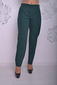 Женские брюки большого размера с высокой посадкой 52-64 р