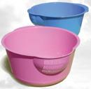 Миска кухонна  з сіткою для зливу 1,5 л ПХ4552