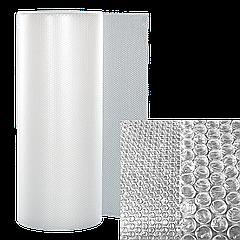 "Воздушно-пузырчатая пленка ""Выручайка"" Д75*0,55*5м Рулон, диаметр пузырька 10 мм."