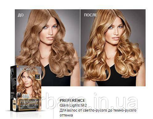 Краска для волос Loreal Glam Lights №2