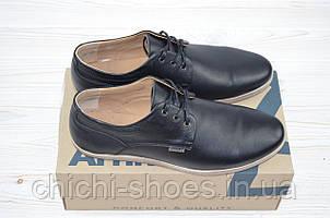 Туфли мужские Affinity 1709-11 чёрные кожа на шнурках