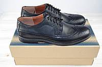 Туфли мужские-оксфорды кожа чёрные Bonis  69-8