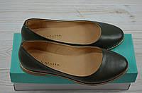Балетки женские Arcoboletto 43-0202-33 чёрные кожа, фото 1