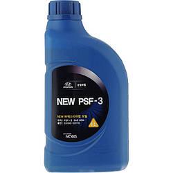 Гидравлическое масло Mobis Hyundai PSF-3 1 литр для гидроусилителя руля автомобилей Hyundai 03100-00100