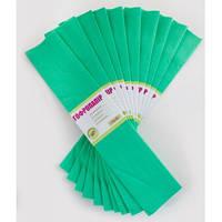 """Папір кольоровий гофрований """"1 вересня"""" 55% 705546 яскраво-зелений"""