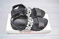 Босоножки женские DITAS 00-60 чёрные кожа, фото 1