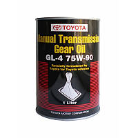 Трансмиссионное масло Toyota Manual Transmission Gear Oil 75W-90 1 литр 08885-81026
