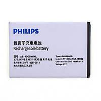 Philips АКБ оригинал Philips S308 AB1400BWML