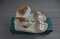 Босоножки женские Arcoboletto 201-722 белые кожа, фото 1