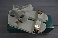 Босоножки женские Arcoboletto 1-725 белые кожа, фото 1