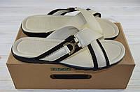 Мужские сандали Forra 11153 белые кожа, фото 1
