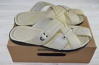 Мужские сандали Forra 11157 белые кожа, фото 1