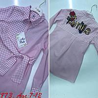 Рубашка для девочек от 7 до 12 лет, фото 1