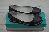 Балетки женские Arccoboletto 825-0202-6 серебро кожа, фото 1