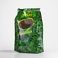 Кава смажена в зернах арабіка Ефіопія Харар 0.5kg