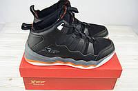 Кроссовки мужские X-TEP 120353 чёрные ПВХ, фото 1
