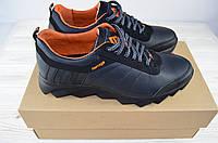 Кроссовки чёрные кожа Extrim 294-53-29-19