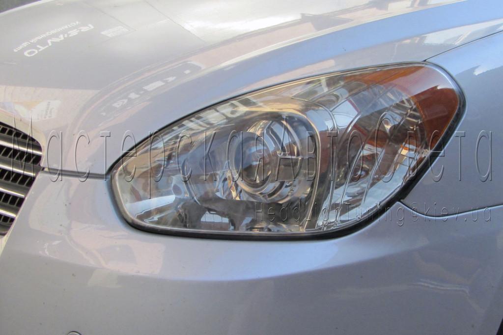 "Hyundai Accent - установка биксеноновых линз KOITO G6/Q5 3,0"" дюйма, в фары"