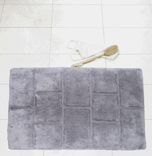 Коврик для ванной Aquamod серый 60x90 см, Ridder (Германия)