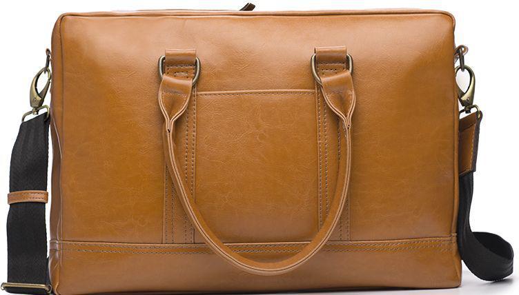 d50b31427630 Мужская сумка для ноутбука 15,6' Solier Solier SL02 Camel — только ...