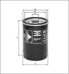 Фильтр масляный DAF 85, 95 - F 3200 ОЕ 267714 KNECHT OC234