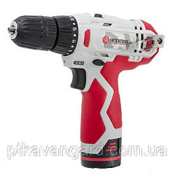 Шуруповерт аккумуляторный 12 В INTERTOOL DT-0310