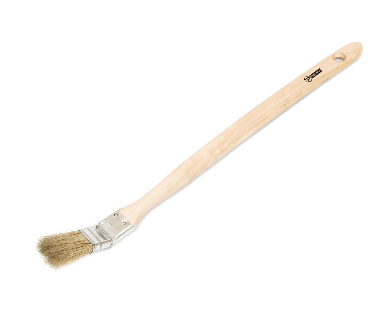 """Кисть радиаторная Polax Стандарт 1"""" (13-001) деревянная ручка"""