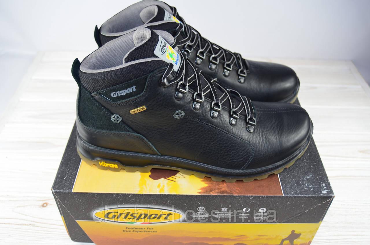 8624e5b77 Ботинки мужские Grisport зима кожа чёрный на шнурке 12905 - chichi-shoes в  Полтаве