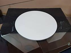 Підкладка під торти ущільнена біла (8мм) Д-25