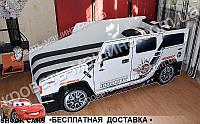Кровать машина ХАММЕР РЕЙСИНГ 1700х800