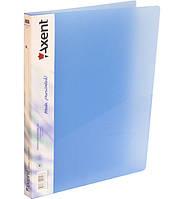 Папка-скоросшиватель А4 Axent, ассорти прозрачных цветов 24721304-10-А
