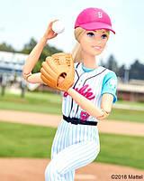 Барби Подвижная артикуляция бейсболистка