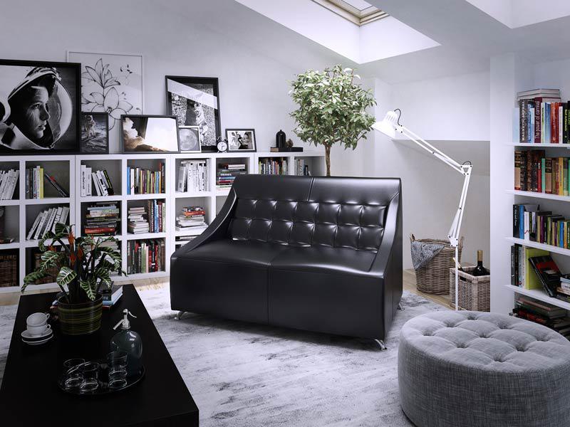 """Офісний диван """"Поліс"""", виробник """"Sentenzo"""""""