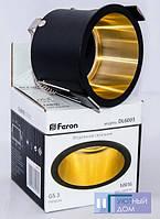 Встраиваемый светильник Feron DL6003 черный золото