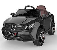 Детский электромобиль Джип черный FL-1558 BLACK деткам 3-8 лет с пультом аккумулятор 2*6V4.5AH мотор 2*25W MP3