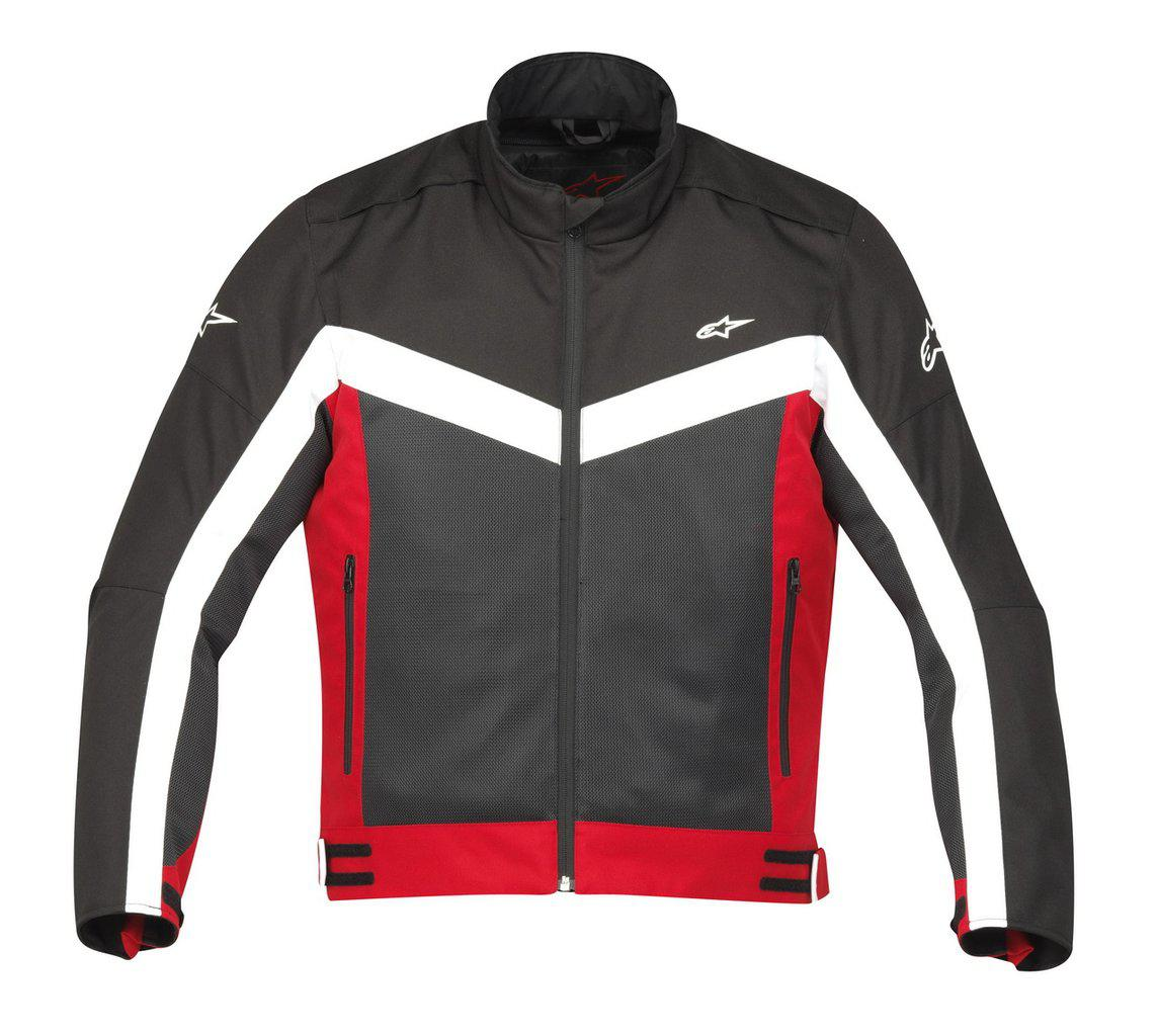 "Куртка Alpinestars RADON Air BLACK/RED текстиль ""M"""