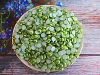 Полубусины перламутрові, 6 мм, колір оливковий, 10 грам, (~200 шт).