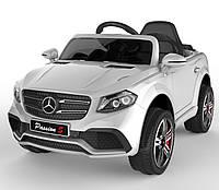 Детский электромобиль Джип белый FL-1558 WHITE деткам 3-8 лет с пультом, аккумулятор 2*6V4.5AH мотор 2*25W MP3