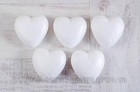 """Набір пенопластових фігурок """"1 Вересня"""" 740614 """"Серце"""", 5шт/уп., 70mm"""