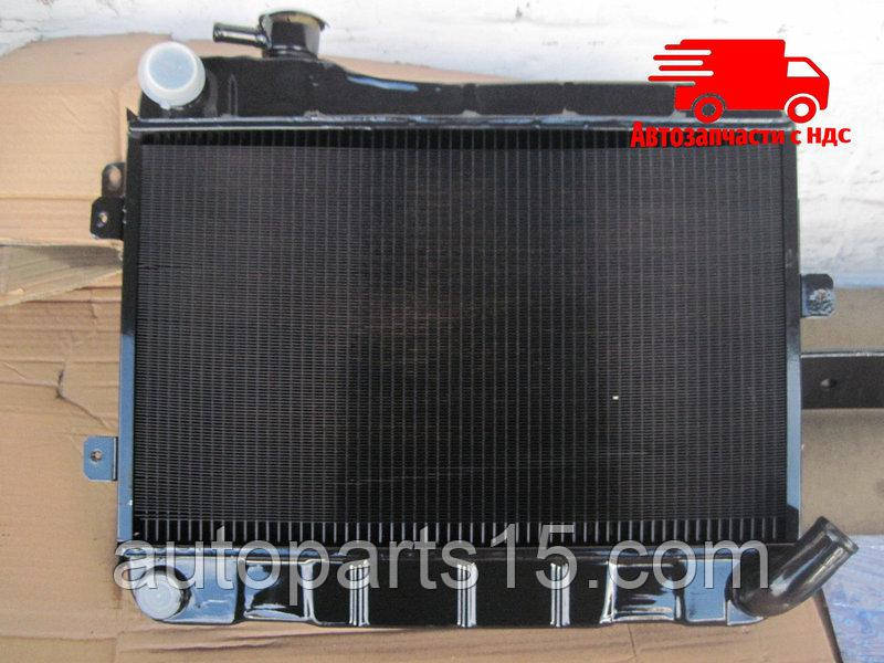 Радиатор водяного охлаждения ВАЗ 2103, 06 (2-х рядн) медн. (пр-во г.Оренбург). 2103-1301.012-60. Ціна з ПДВ.