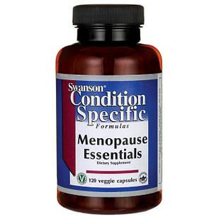 Витаминный комплекс в период менопаузы Menopause Essentials, Swanson, 120 капс.